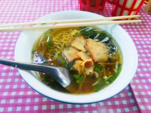 Noodle Soup Pork with Wanton